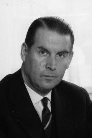 Gerhard Schröder (CDU) - Interior Minister Schröder in 1960