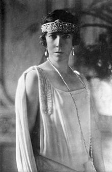 Elisabeth Gabriele Of Bavaria Queen Of Belgium 1920