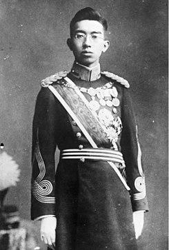Император хирохито в 1932 году