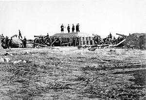 Battle of Dybbøl - Image: Bundesarchiv Bild 146 1972 055 56, Deutsch Dänischer Krieg, Düppeler Schanzen