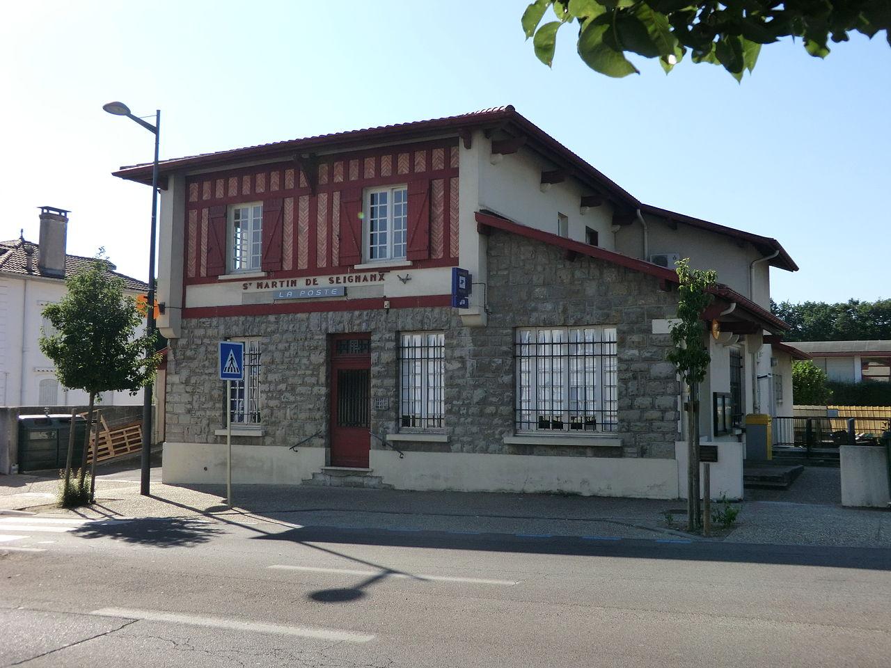 File bureau des postes de saint martin de seignanx jpg for Bureau 13 wiki