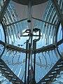 Burner inside the Fresnel lens system of Bentskar lighthouse.jpg