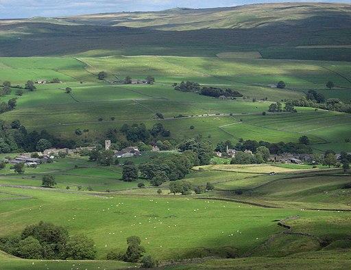 Burnsall in Wharfedale, Burnsall & Thorpe Fell, wsw, 3 miles