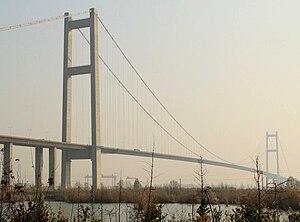 Runyang Yangtze River Bridge - South bridge