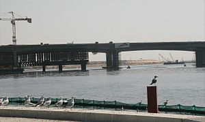 Business Bay Crossing - Image: Business Bay Crossing Under Construction on 31 January 2007 Pict 2