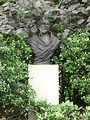 Bust of George Basevi, Belgrave Square Gardens SW1.JPG