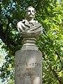 Bust of József Katona by László Dunaiszky, Katona József Park, 2016 Hungary.jpg