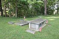 Byron m cutcheon grave