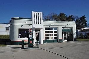 Carlin's Amoco Station - Image: CARLIN'S AMOCO STATION, ROANOKE CITY