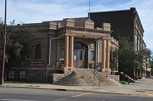 National Register of Historic Places listings in Codington County, South Dakota - Image: CARNEGIE FREE PUBLIC LIBRARY, CODINGTON COUNTY, SD