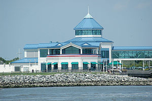 Cape May–Lewes Ferry - The Cape May, New Jersey terminal