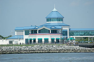 Lower Township, New Jersey - The Cape May terminal of the Cape May–Lewes Ferry