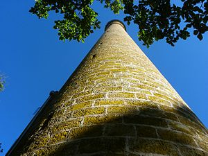 Shot tower -  Shot tower, Tasmania (1870)