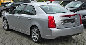 Cadillac BLS - BLS Sedan rear