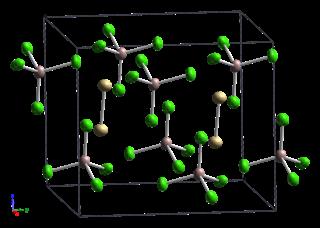 Cadmium(I) tetrachloroaluminate chemical compound