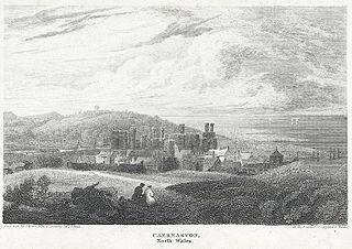 Caernarvon, north Wales