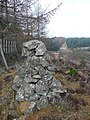 Cairn where fence changes direction - geograph.org.uk - 1233560.jpg