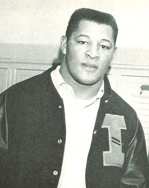 Cal Jones - Jones from 1956 Hawkeyes