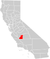 California county map (Kings County highlighted).svg