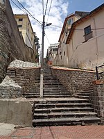 Calle Mideros, Quito, lots of steps and steps.jpg