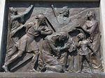 Calvary of Karl I of Austria. Station 7. Jesus falls the second time. - Tihany.JPG