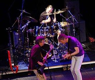 Camel (band) - Image: Camel In Concert