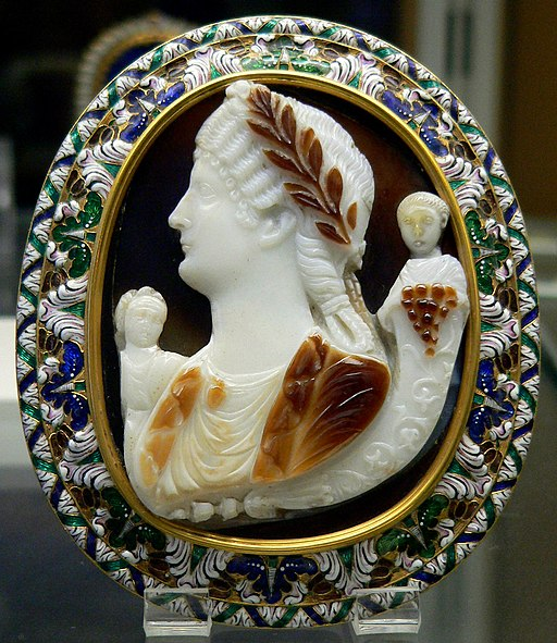 Cameo Messalina Cdm Paris Chab228