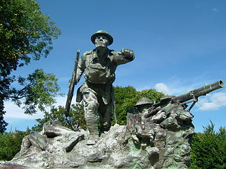 Cameronians War Memorial - Image: Cameronians Kelvingrove