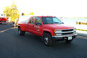 Canadian Coast Guard - Typical CCG Emergency Response Vehicle