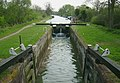 Canal Lock, Kennet Canal at Great Bedwyn - geograph.org.uk - 1470881.jpg