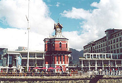The Clock Tower (built 1883) at the Victoria & Alfred Waterfront