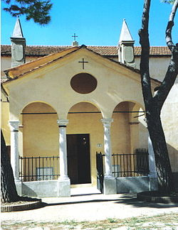 "The Chapel of Santa Maria a Grancia, located near the farm ""Grancia"" and belonging to the parish of Rispescia"