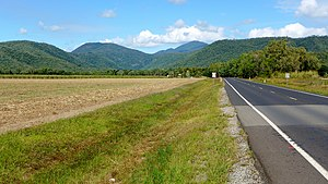 Captain Cook Highway - The highway at Craiglie near Port Douglas