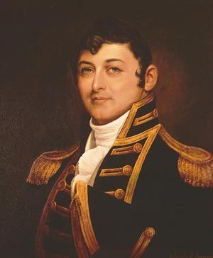 1835 Washington Navy Yard labor strike - Captain Isaac Hull, who issued the order that caused the strike
