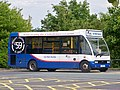 Car park shuttle bus at Leeds Bradford International Airport (24th July 2010).jpg