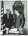 Carl Albert with Mr. Araneta of the Philippines. February 1973.jpg