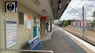 Carlingford railway station