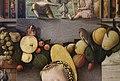 Carlo crivelli, madonna della passione, 1460 ca. 03 ghirlanda di frutta e foglie.jpg