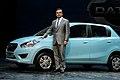 Carlos Ghosn at Datsun Go Launch New Delhi India July 15 2013 Picture by Bertel Schmitt.jpg