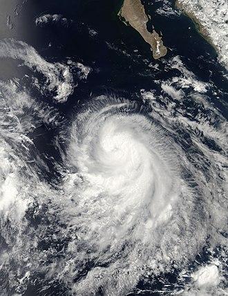 2006 Pacific hurricane season - Image: Carlotta 2006 07 13 2105Z