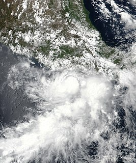 Tropical Storm Carlotta (2018) Tropical Storm in the Pacific of 2018