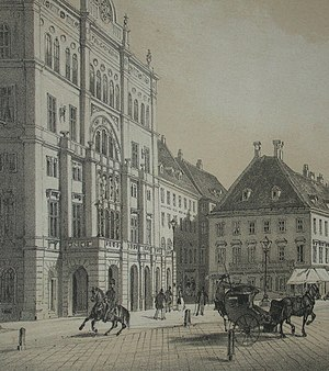 Carltheater - The Carltheater in 1850