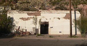 National Register of Historic Places listings in Greenlee County, Arizona - Image: Casa Grande building (Clifton, AZ) from SW 1
