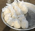 Cassava dough on display in Ghana.jpg