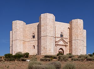 English: The Castel del Monte is one of the be...