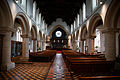 Castle Hedingham, St Nicholas' Church, Essex England, nave and chancel from the west.jpg