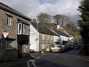 Bampton, Devon - Image: Castle Street, Bampton