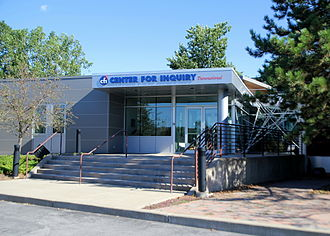 Center for Inquiry - Front entrance of Center For Inquiry Transnational