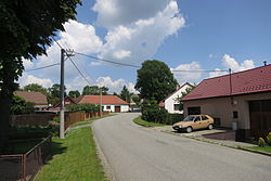 Center of Římov, Třebíč District.JPG