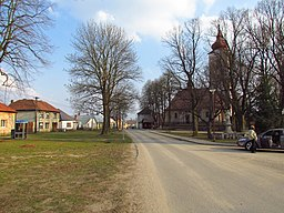 Center of Heraltice, Třebíč District.JPG
